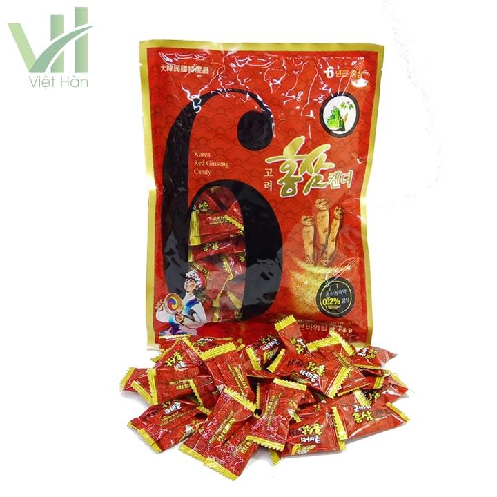 Sản phẩm kẹo hồng sâm Hàn Quốc F&B nhập khẩu từ Hàn Quốc