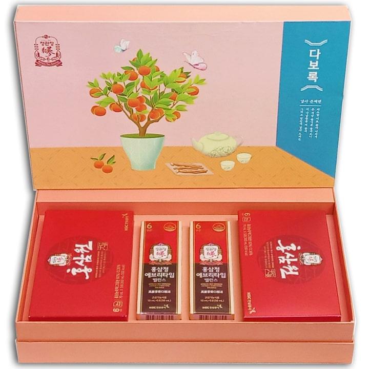 Set quà tặng hồng sâm KGC Hàn Quốc [Xuân An Khang]