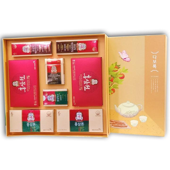 Set quà tặng hồng sâm chính phủ Xuân Phát Tài
