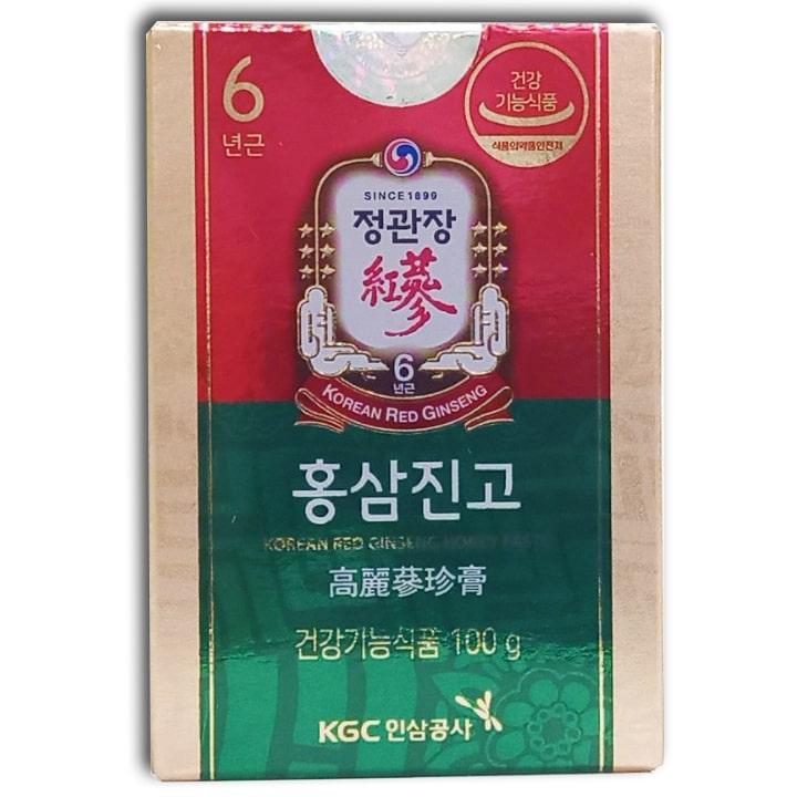 1 hộp hồng sâm mật ong KGC 100g.