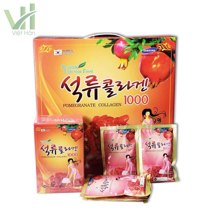 Nước ép lựu collagen Kanghwa sản xuất tại Hàn Quốc