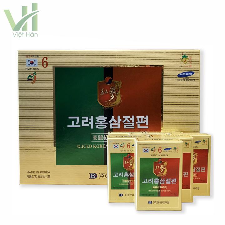 Sâm lát tẩm mật ong Dongwon 200gr