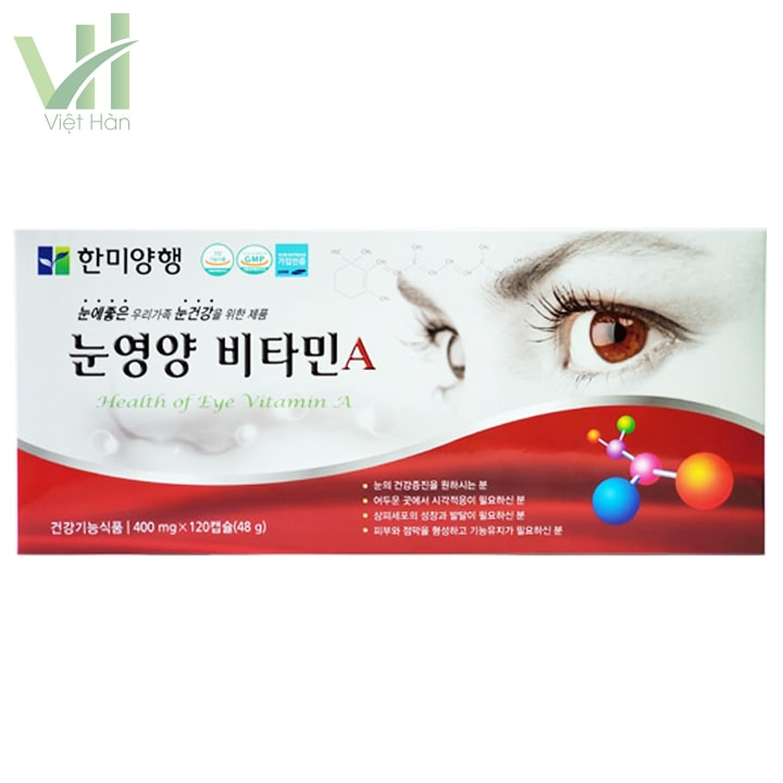 Viên bổ mắt Hami có tác dụng rõ rệt khi sử dụng trong thời gian dài