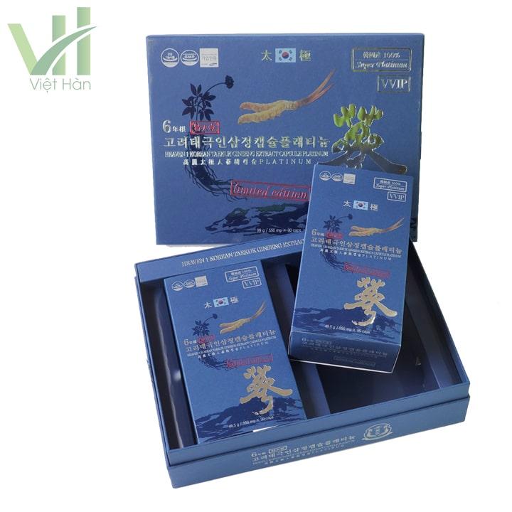 Sản phẩm đã có mặt tại Nhân sâm Việt Hàn