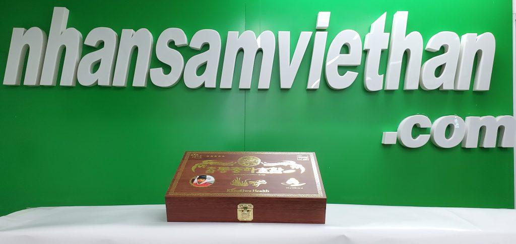 Hình ảnh: Viên hồng sâm đông trùng hạ thảo Kanghwa 3.75g x 30 viên hộp gỗ